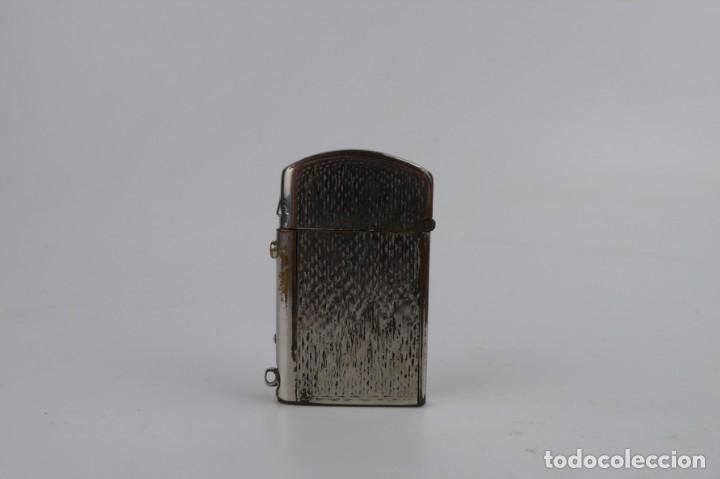 Mecheros: Dubsky Record - mechero de gasolina semi automático - Austria Ca.1910 - Foto 6 - 266269788