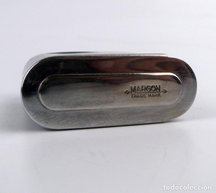 Mecheros: Margon- raro mechero de gasolina encendido eléctrico -años 40-50 -100% completo - Foto 7 - 266433343