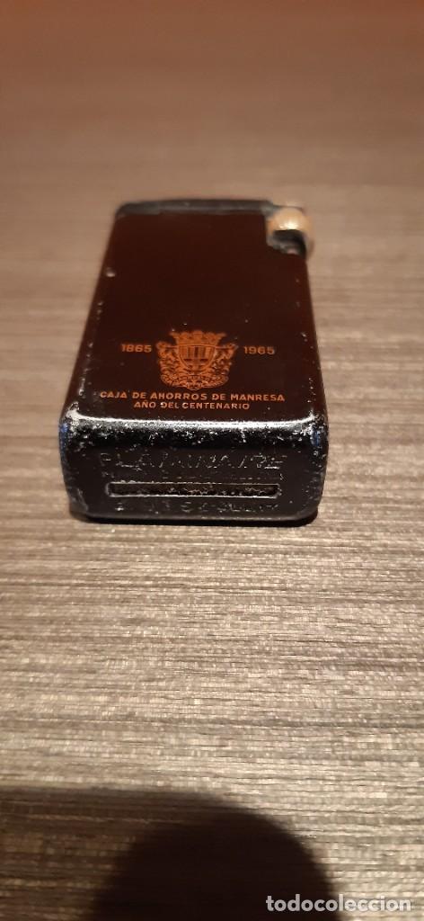 Mecheros: Mechero flaminaire publicidad caja de ahorros de Manresa centenario - Foto 4 - 287309738