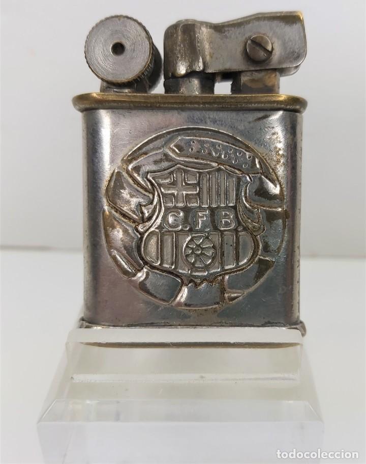 MECHERO DE GASOIL CFB BARCELONA 1960 (Coleccionismo - Objetos para Fumar - Mecheros)