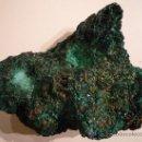 Coleccionismo de minerales: PRECIOSA Y GRAN MALAQUITA DE 1.200KG Y18CM DE LARGO. MULTITUD DE DESTELLOS. Lote 24860960