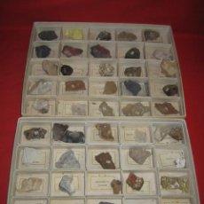 Coleccionismo de minerales: COLECCIÓN DE MINERALES. CINCUENTA TIPOS DIFERENTES.. Lote 31326183