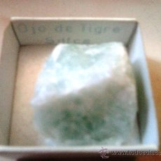 Coleccionismo de minerales: MINERAL DE COLECCION / OJO DE TIGRE / SUDÁFRICA. Lote 32396090