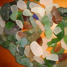 Coleccionismo de minerales: CRISTALES RODADOS DIVERSAS FORMAS COLORES Y TAMAÑOS, IDEAL PARA TERRARIOS ,ACUARIOS , JARRONES.. Lote 32979137