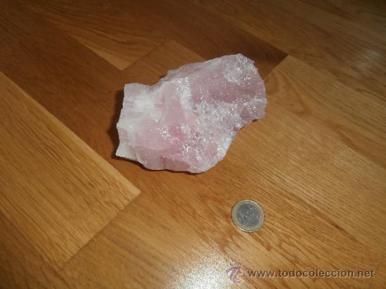 PIEDRA DE CUARZO ROSA (CUARZO ROSADO) - MINERAL (Coleccionismo - Mineralogía - Otros)