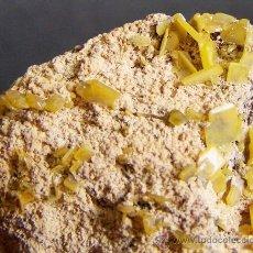 Coleccionismo de minerales: *** MAGNÍFICOS CRISTALES DE WULFENITA. TOUISSIT, OUJOA-ANGAD PROV. MARRUECOS ***. Lote 37171643