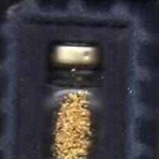 Coleccionismo de minerales: BOTECITO DE ORO EN AGUA - AUTENTICO. Lote 214219520