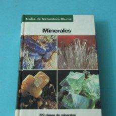 Coleccionismo de minerales: MINERALES. OLAF MEDENBACH. CORNELIA SUSSIECK. GUÍAS DE NATURALEZA BLUME. Lote 37840980