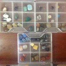 Coleccionismo de minerales: LOTE DE 58 PIEDRAS VARIADAS. Lote 39290665