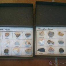 Coleccionismo de minerales: COLECCION MINERALES ROCAS. Lote 43427774