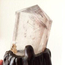 Coleccionismo de minerales: CUARZO RUTILADO RUTILATED QUARTZ REF.. Lote 43866487