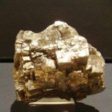 Coleccionismo de minerales: EXCEPCIONAL PIRITA LÉRIDA PONT DE SUERT LLEIDA GRAN TAMAÑO 1,112KG. Lote 45919426