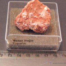 Coleccionismo de minerales: YESO ROJO. Lote 54157221