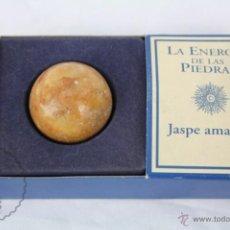 Coleccionismo de minerales: MINERAL / PIEDRA DE COLECCIÓN / FASCÍCULO LA ENERGÍA DE LAS PIEDRAS - JASPE AMARILLO. Lote 48807038