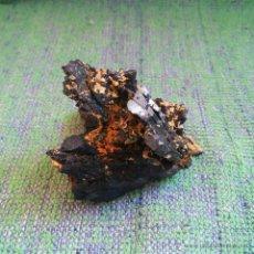 Coleccionismo de minerales: MINERALES, AZURITA NATIVA EN LAMINAS CRISTALINAS * PERFECTA *. Lote 50683379