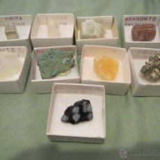 Coleccionismo de minerales: COLECCION DE MINERALES. Lote 52432381