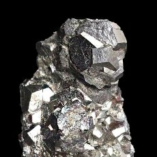 Coleccionismo de minerales: *** BONITOS CRISTALES DE SKUTTERUDITA. MINA AGHBAR, BOU AZZER (MARRUECOS) ***. Lote 53270545