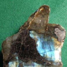 Coleccionismo de minerales: PIEZA MINERAL LABRADORITA PULIDA. Lote 54842971