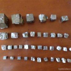 Coleccionismo de minerales: PIRITAS 40 UNIDADES. Lote 56046429