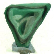 Coleccionismo de minerales: MALAQUITA PULIDA. Lote 57286446