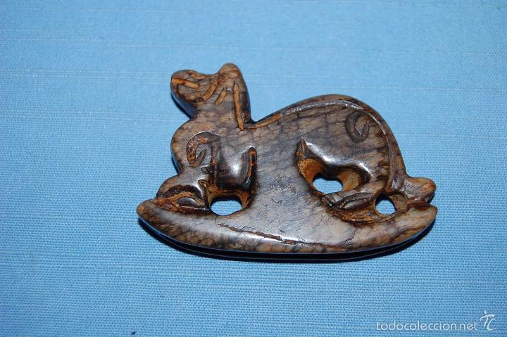 Coleccionismo de minerales: ESCULTURA EN JADE REPRESENTACIÓN ANIMAL - Foto 2 - 57363611