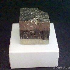 Coleccionismo de minerales: PIRITAS - RARO CUBO DE PIRITA - ESPAÑA. Lote 57385327