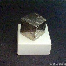 Coleccionismo de minerales: PIRITAS - CUBO DE PIRITA - ESPAÑA. Lote 57385552