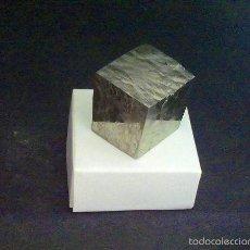 Coleccionismo de minerales: PIRITAS - CUBO DE PIRITA - ESPAÑA. Lote 57385596