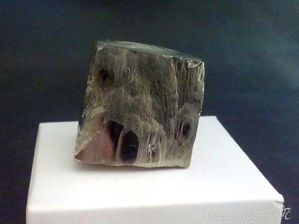 Coleccionismo de minerales: PIRITAS - CUBO DE PIRITA CON MACLA - ESPAÑA - Foto 4 - 107378684