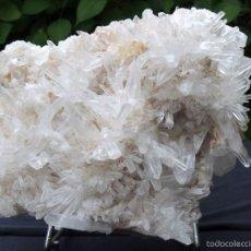Coleccionismo de minerales: GRAN DRUSA DE CUARZO CRISTALIZADO. Lote 57704724
