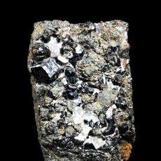 Coleccionismo de minerales: *** CONJUNTO DE GRANATES EN MATRIZ. LA JUDÍA, BURGUILLOS DEL CERRO (BADAJOZ) ***. Lote 57713580