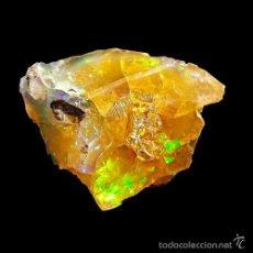 Coleccionismo de minerales: *** ESPECTACULAR ÓPALO DE FUEGO DE GRAN TAMAÑO. ETIOPÍA ***. Lote 57865100