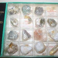 Coleccionismo de minerales: COLECCIÓN DE MINERALES MINPEX - 20 MINERALES - CAJA 2. Lote 58270426