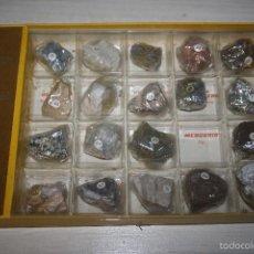Coleccionismo de minerales - Colección de minerales Minpex - 20 minerales - Caja 3 - 58270450