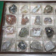 Coleccionismo de minerales: COLECCIÓN DE MINERALES MINPEX - 20 MINERALES - CAJA 4. Lote 58270473