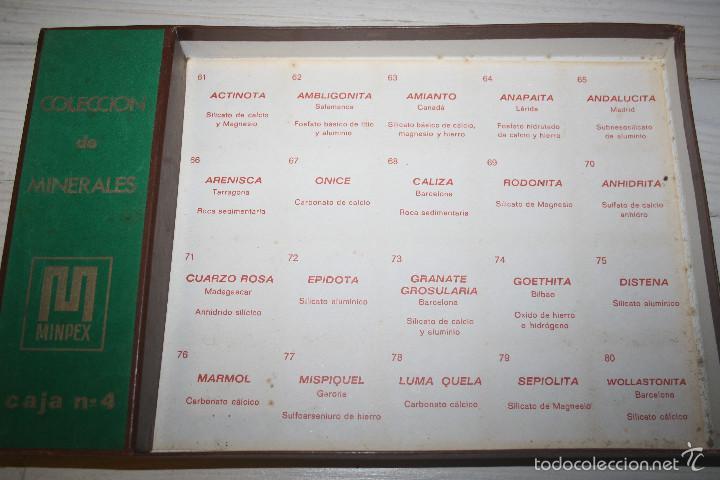 Coleccionismo de minerales: Colección de minerales Minpex - 20 minerales - Caja 4 - Foto 3 - 58270473