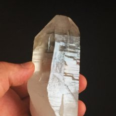 Coleccionismo de minerales: CUARZO CON TURMALINA PAKISTAN QUARTZ WITH TOURMALINE GEMOTERAPIA. Lote 58301029