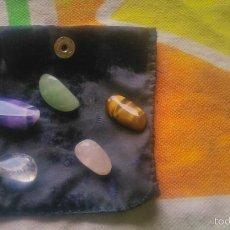 Coleccionismo de minerales: LOTE DE 5 GEMAS NATURALES,DIFERENTES.. Lote 58655972