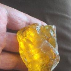 Coleccionismo de minerales: AMBAR DE PERU AMBER PIEZA Nº 1. Lote 60634603