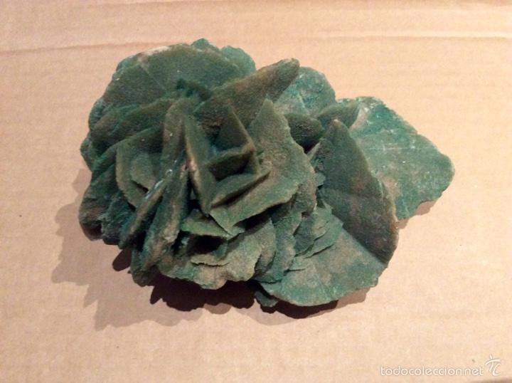 Coleccionismo de minerales: Una pieza de Rosa del desierto de 10x14x6. Es una pieza muy rara por su color procede de Tunez - Foto 2 - 60694675