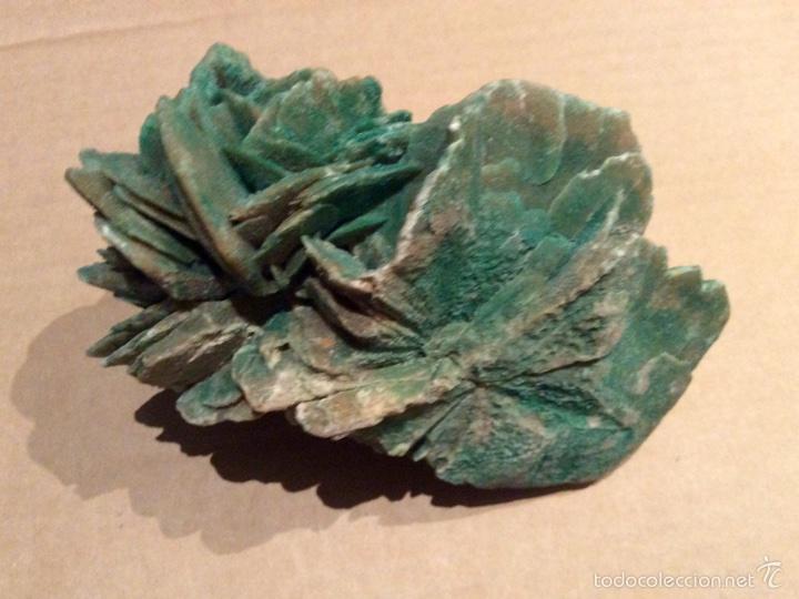 Coleccionismo de minerales: Una pieza de Rosa del desierto de 10x14x6. Es una pieza muy rara por su color procede de Tunez - Foto 3 - 60694675
