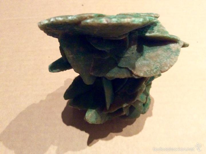 Coleccionismo de minerales: Una pieza de Rosa del desierto de 10x14x6. Es una pieza muy rara por su color procede de Tunez - Foto 5 - 60694675