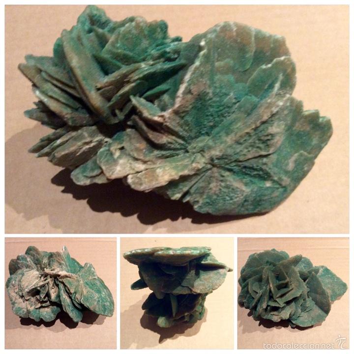 Coleccionismo de minerales: Una pieza de Rosa del desierto de 10x14x6. Es una pieza muy rara por su color procede de Tunez - Foto 6 - 60694675