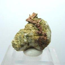 Coleccionismo de minerales: FD MINERALES: COBRE NATIVO CRISTALIZADO EN MATRIZ - HERRERIAS - HUELVA - 1989 - H12. Lote 61488463