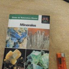 Coleccionismo de minerales: GUIA DE MINERALES EDIT BLUME. Lote 65815026