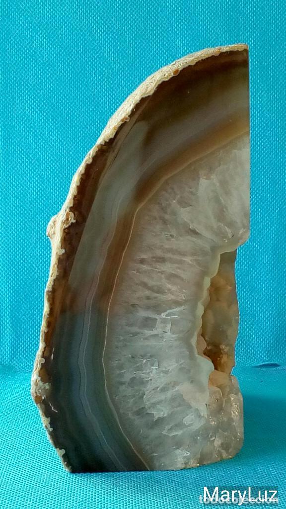 Coleccionismo de minerales: PIEDRA DE BRASIL. Peso: 1,5 Kg. Años 80-90. - Foto 2 - 67865053