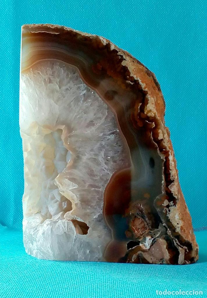 Coleccionismo de minerales: PIEDRA DE BRASIL. Peso: 1,5 Kg. Años 80-90. - Foto 3 - 67865053