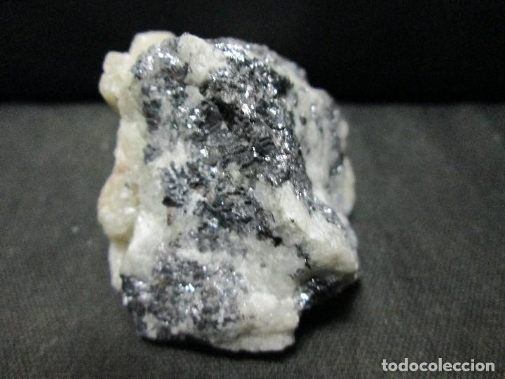 Coleccionismo de minerales: galena 100 gramos aproximadamente - Foto 3 - 68582517