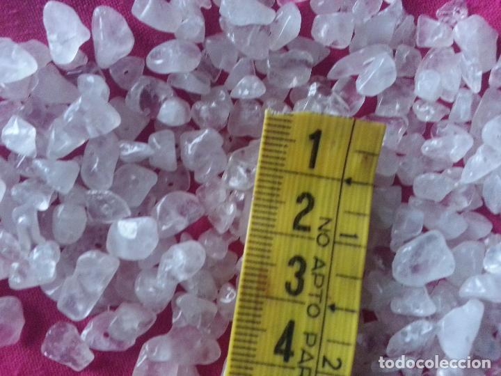 Coleccionismo de minerales: cuentas cristal opaco y transparente para joyeria , para bordar o confeccion de joyeria - Foto 3 - 69251897