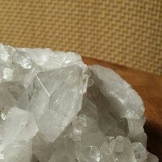 Coleccionismo de minerales: DRUSA DE CUARZO. Lote 72696458